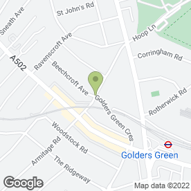 Map of GSATV Ltd in London, london