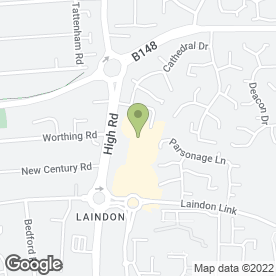 Map of Butler & English in Laindon, Basildon, essex