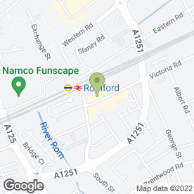 Map of Dixy Chicken in Romford, greater london