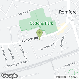 Map of Signexcel Ltd in Romford, greater london