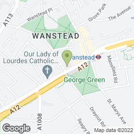 Map of Belgique (Wanstead) Ltd in London, london