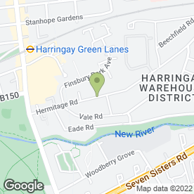 Map of Lush Gardening Services in London, london