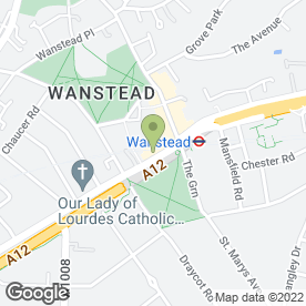 Map of Wiseman Lee in Wanstead, London, london
