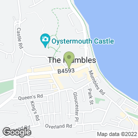 Map of The Beauty Therapy Suite in Mumbles, Swansea, west glamorgan