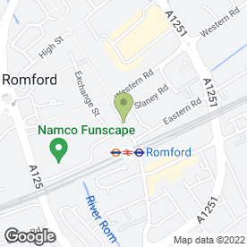 Map of STERNBERG REED in Romford, greater london