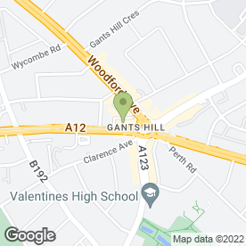 Map of Chilli & Chutney in ILFORD, greater london