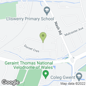 Map of Pass R uss Driving School Newport in Newport, gwent