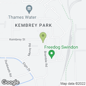Map of Cross Country Travel Ltd in Techno Trading Estate, Swindon, wiltshire