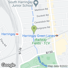 Map of Handy & Painter in London, london