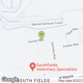 Map of Engineered Pool Supplies Ltd in Basildon, essex