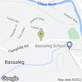 Map of J.C Downes in Bassaleg, Newport, gwent