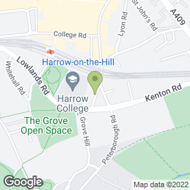 Map of Duncan Lewis Solicitors in Harrow, middlesex