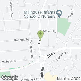 Map of Well Care Veterinary Centre in Basildon, essex