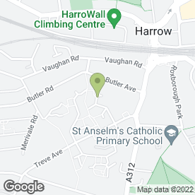 Map of Harrow Plumbing & Heating - Boiler Breakdowns in Harrow, middlesex