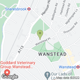 Map of Kumon maths and English study centre (Wanstead) in LONDON, london