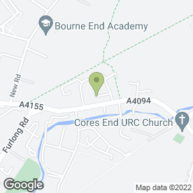 Map of Benchmark Plumbing & Property Services in Bourne End, buckinghamshire