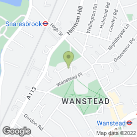 Map of I & K Brown Ltd in Wanstead, London, london