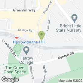 Map of Clive Lawrence & Co in Harrow, middlesex