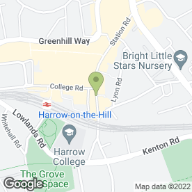 Map of Sultan's in HARROW, middlesex
