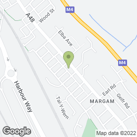 Map of J.C Motor Cycles in Margam, Port Talbot, west glamorgan