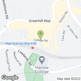 Map of learndirect centres in Harrow, middlesex