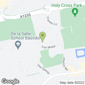 Map of Little Friends Pre-School Ltd in Basildon, essex