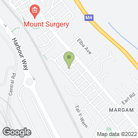 Map of Margam Fencing Services Ltd in Port Talbot, west glamorgan