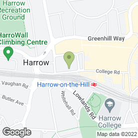 Map of Thakker & Co in Harrow, middlesex