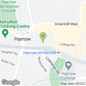 Map of Office Angels Ltd in Harrow, middlesex