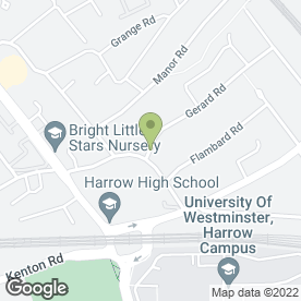 Map of Imago in Harrow, middlesex
