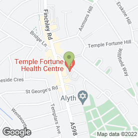 Map of Private GP in London in London, london