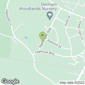 Map of G.J.P Heating & Plumbing Services in Denham, Uxbridge, middlesex