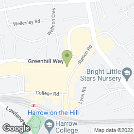 Map of Goldlovers Jewellers & Pawnbrokers in Harrow, middlesex
