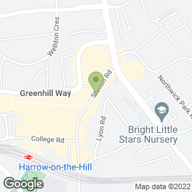 Map of Lloyds TSB Bank plc in Harrow, middlesex