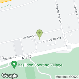 Map of Security Shutters Ltd in Basildon, essex