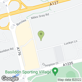 Map of National Tyres and Autocare in Basildon, essex