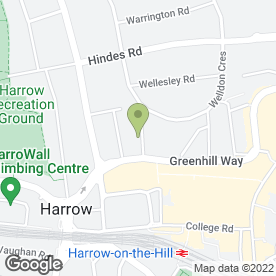 Map of Signature Transfers in Harrow, middlesex