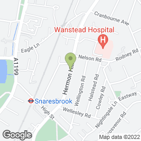 Map of Forest Dene Residential Home in Wanstead, London, london
