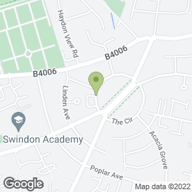 Map of Simply Red in Swindon, wiltshire