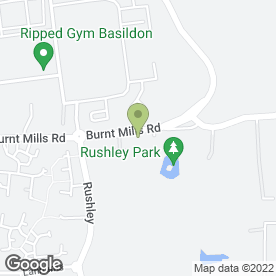 Map of ETYRES BASILDON in Basildon, essex