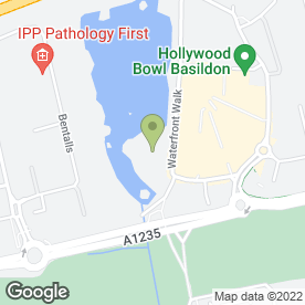 Map of Avis Rent A Car in Basildon, essex