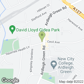 Map of Davis Estates Ltd in Hornchurch, greater london