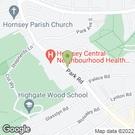 Map of Hill's Veterinary Surgery in London, london