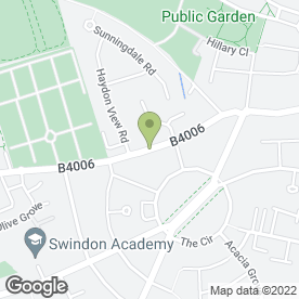Map of Davis Roofing Contractors in SWINDON, wiltshire