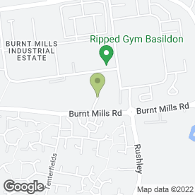 Map of C.C.R Property Services Ltd in Basildon, essex
