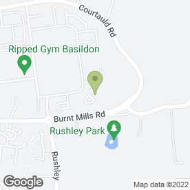 Map of Continental Shutters Ltd in Burnt Mills Industrial Estate, Basildon, essex
