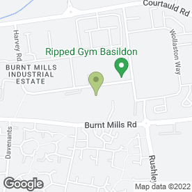 Map of George H Vaughan Contractors Ltd in Basildon, essex