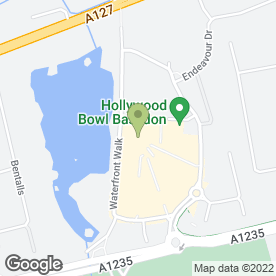 Map of Aroma Restaurant in Basildon, essex