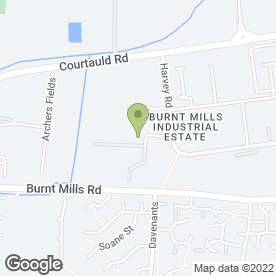 Map of Onforme Dies Ltd in Basildon, essex