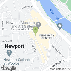 Map of The Beauty Therapy & Electrolysis Clinic in Newport, gwent